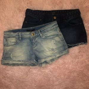 Small jean shorts forever 21
